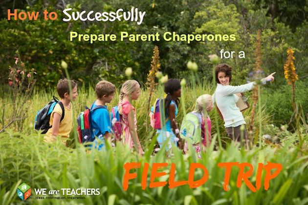 How to prep parent chaperones for a field trip