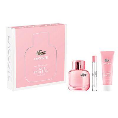 Lacoste Eau de L12 12 Pour Elle Sparkling Gift Set 50ml