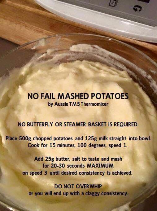 Bellini mashed potato