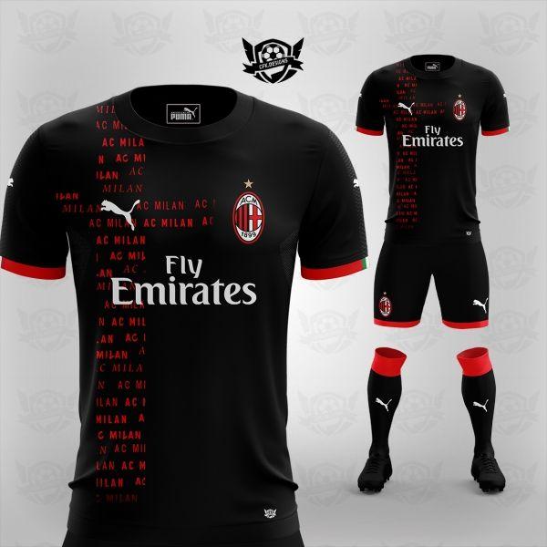 new arrival 0fee5 d28d6 AC MILAN X PUMA CONCEPT BY CFK.DESIGNS | uniformes sport ...
