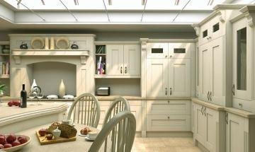 Pronto Oakgrain Cream Kitchen - By BA Components.