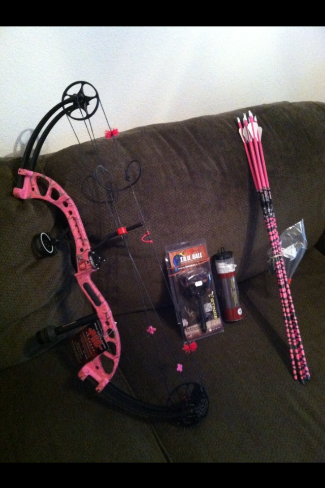 Custom PSE Chaos bow from the best boyfriend in the world!! ❤