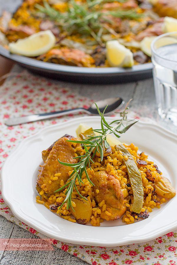 104 best recetas de arroz images on pinterest rice for Como hacer paella de verduras