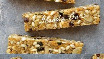 Chewy, No-Bake Peanut Butter Granola Bars