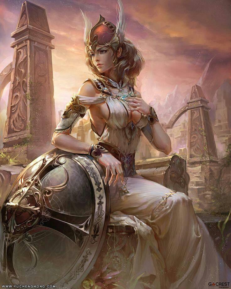 Athena - Goddess of War
