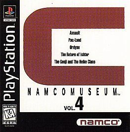 Namco Museum Vol. 4 (Sony PlayStation 1, 1996) DISC ONLY, GREAT SHAPE: $49.75 End Date: Friday Feb-16-2018 15:01:20 PST Buy It Now for…
