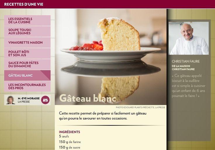 Cette recette permet de préparer si facilement un gâteau qu'on pourra le savourer en toutes occasions.