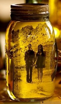 Mason jar,olive oil and a #photo....but olive oil is expensive!? #dyi #photo #craft  very cool idea  #fotobridge