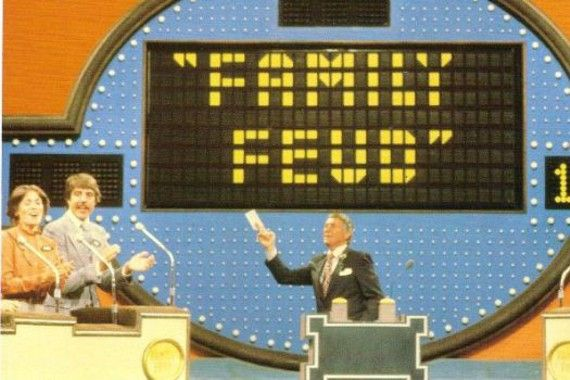 The original Family Feud.  Oh My Gosh!!  Richard Dawson!!! I used to watch this RE--LI--GIOUS---LYYYY when I was child in the late 70s and early 80s.  I LOVED this game show