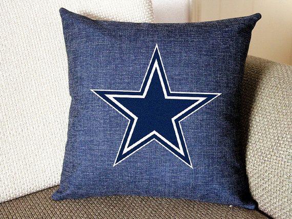 Dallas Cowboys pillow Dallas Cowboys decor pillow