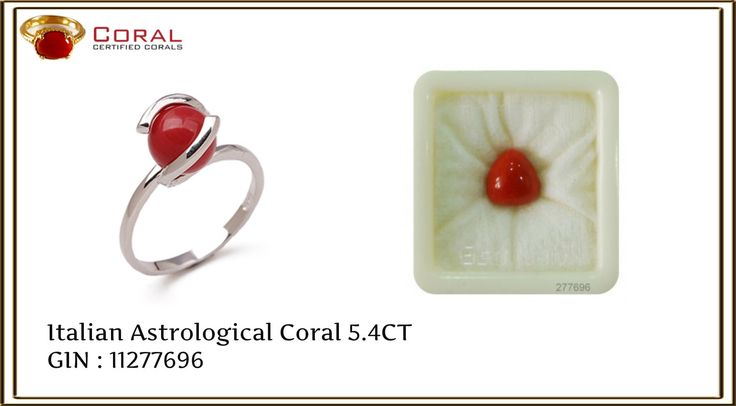 Enhance your #style with this #elegant #coral #silver #ring.