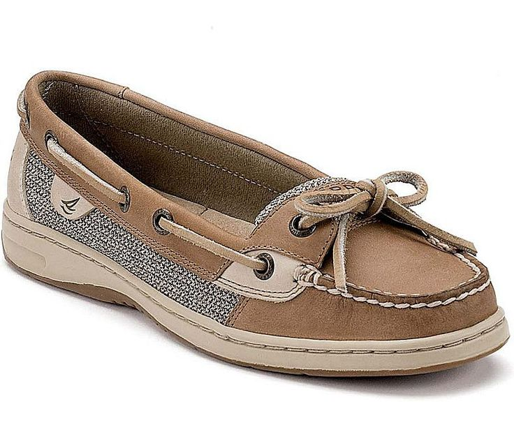 WOMENS SPERRY ANGELFISH SLIP-ON BOAT SHOES