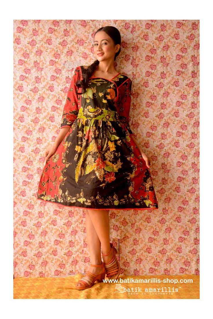 www.batikamarillis-shop.com batik amarillis's Project A dress