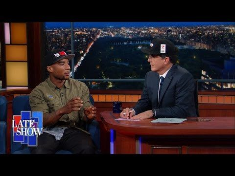 Charlamagne says Stephen Colbert got fancy (Video) - http://www.trillmatic.com/charlamagne-says-stephen-colbert-got-fancy-video/ - Charlamagne was recently a guest on Stephen Colbert's The Late Show where they discussed being from the same area & Colbert getting fancy with his name.  #BrilliantIdiots #TheLateShow #Colbert #TheBreakfastClub #Trillmatic #TrillTimes