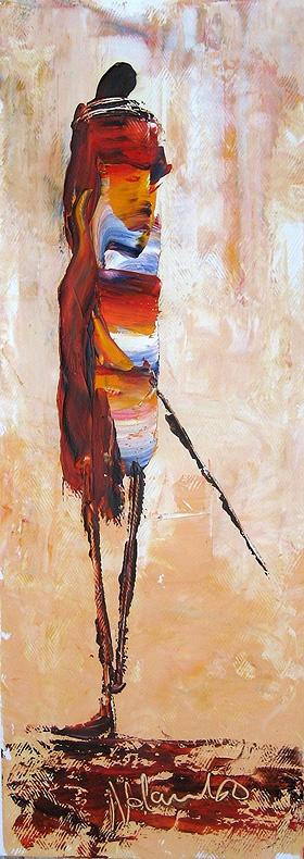 afrikan,     afrika sanatı resimleri