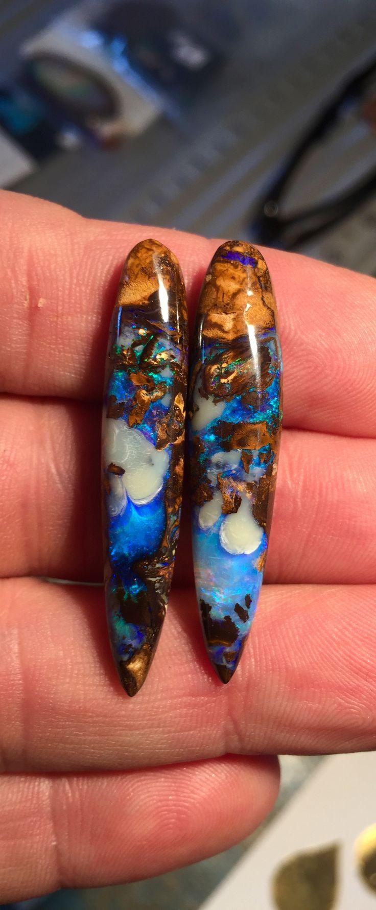 A nice pair of drops I just cut...   Bill Kasso