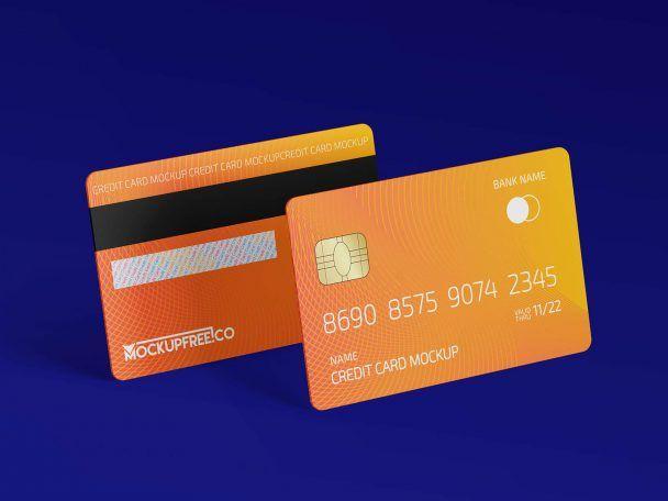 Free Plastic Credit Debit Bank Card Mockup 3 Psd Set Psfiles Business Card Mock Up Business Cards Mockup Psd Psd Template Free