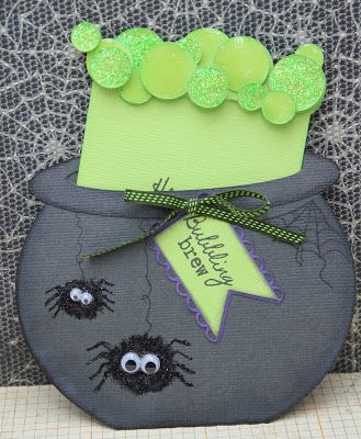 My Craft Spot: Sneak Peek Day #2 - A Jar Full Of Halloween!!