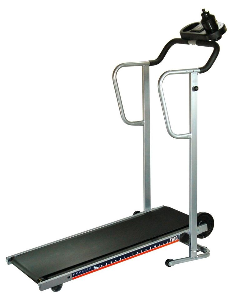 Phoenix 98510 Easy-Up Manual Treadmill is a powered treadmill would be an unnecessary waste of money. Great for workout.