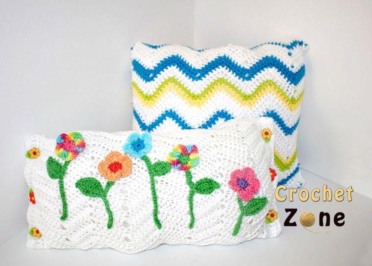 15 mejores imágenes de Coussins tricot/crochet en Pinterest ...