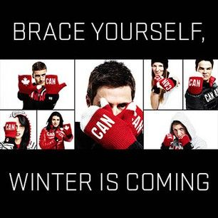 Brace yourself, winter is coming | Canadian Olympic Committee