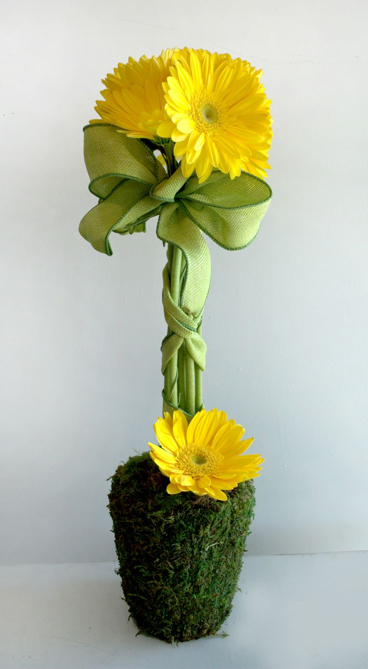 Wouldn't this Gerber daisy arrangement by Suzy Reynolds be perfect for Mother's Day?