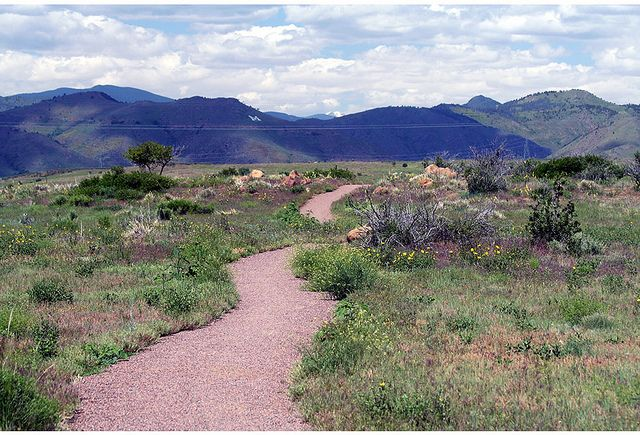 Trail at South Table Mountain Park by Jefferson County Colorado, via Flickr