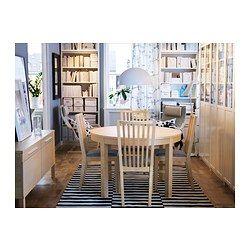 19 best ikea bjursta dining table images on pinterest | dining