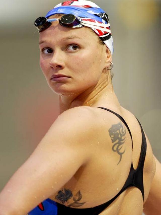 Franziska van Almsick (born: April 5, 1978, East Berlin
