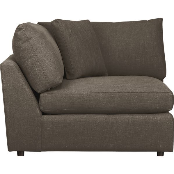 Recliner Sofa Lounge Sectional Corner Crate and Barrel clearance