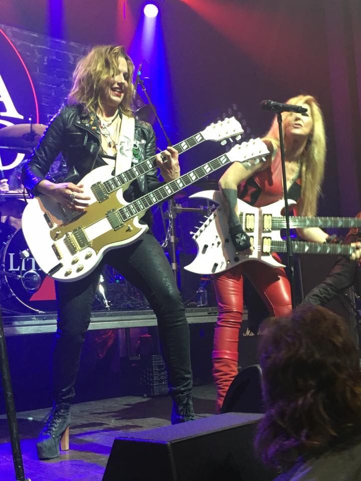203 best images about double and more neck guitar - Lzzy hale boyfriend ...