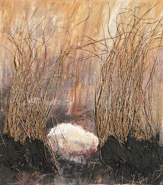 """Saatchi Art Artist Olivier Dubois-Cherrier; Painting, """"In Life I Trust #3"""" #art"""