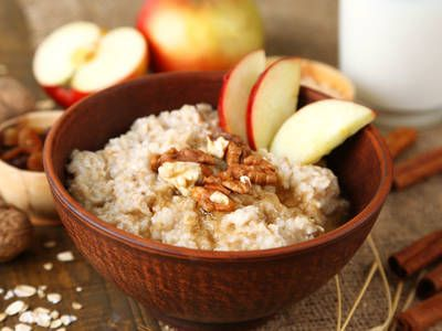 ... breakfast food breakfast creamy oatmeal apple cinnamon oatmeal forward