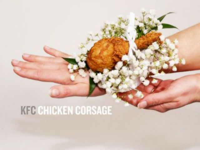KFC rolls out 'chicken corsage' just in time for prom
