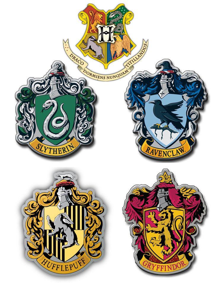 Printable Hogwarts House Crests Harry potter printables