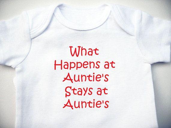 I Love My Aunt Baby Clothes Amazon