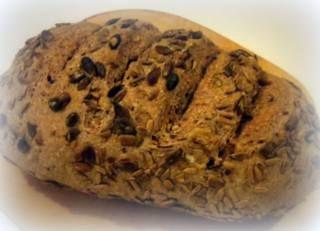 Pane integrale ai semi di zucca e girasole VIDEO