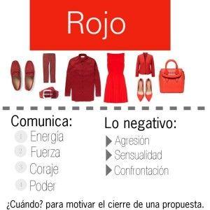 El rojo es pasión, descubre todo lo que denota en... http://www.1001consejos.com/dime-que-colores-llevas-y-te-dire-quien-eres/
