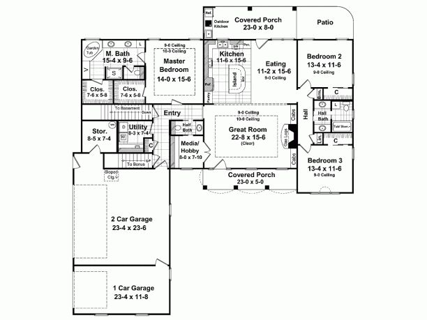 27 best 1200 Sq. Ft. House Plans images on Pinterest