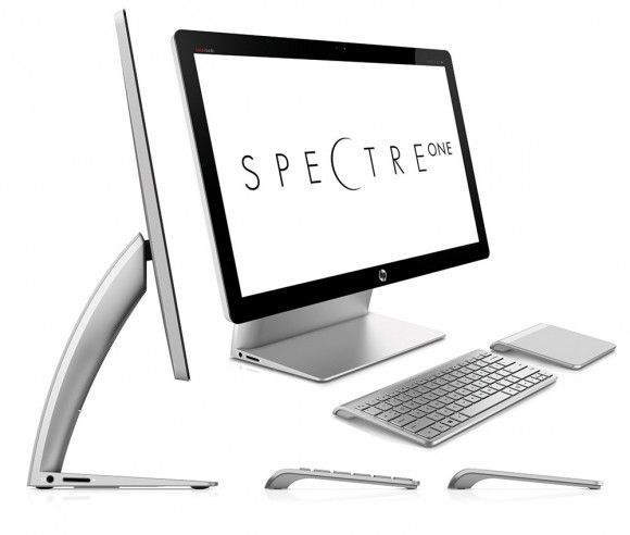HP SpectreONE all-in-one PC brings trackpad-centric experience to Windows 8