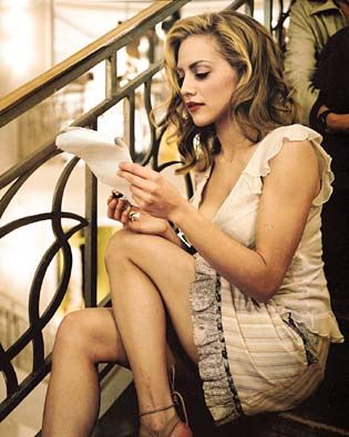 Brittany Anne Murphy ( November 10, 1977 – December 20, 2009) was an American actress and singer. She starred in films such as Clueless,Just Married; Girl, Interrupted; Spun; 8 Mile; Uptown Girls; Sin City; Happy Feet and Riding in Cars with Boys