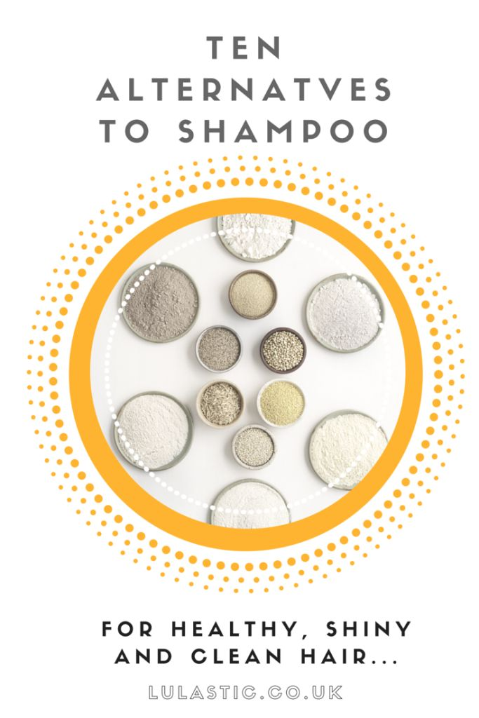 Ten Shampoo Alternatives for healthy, shiny and clean hair - Lulastic and the Hippyshake