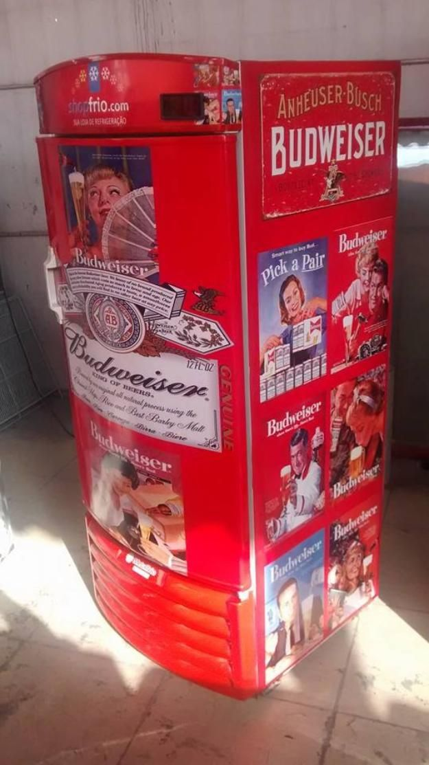 geladeira adesivada cerveja - Pesquisa Google