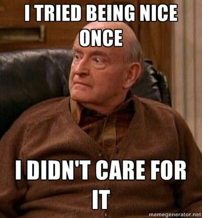 Being nice - Everybody Loves Raymond