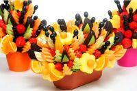 Как украсить фруктовую нарезку 2