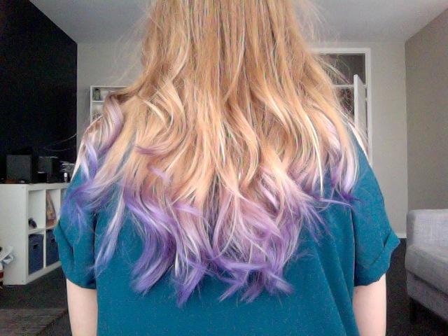 lilac ombre hair beautyful pinterest