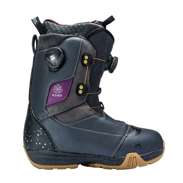 Boots snowboard Rome Memphis Boa Black 2018
