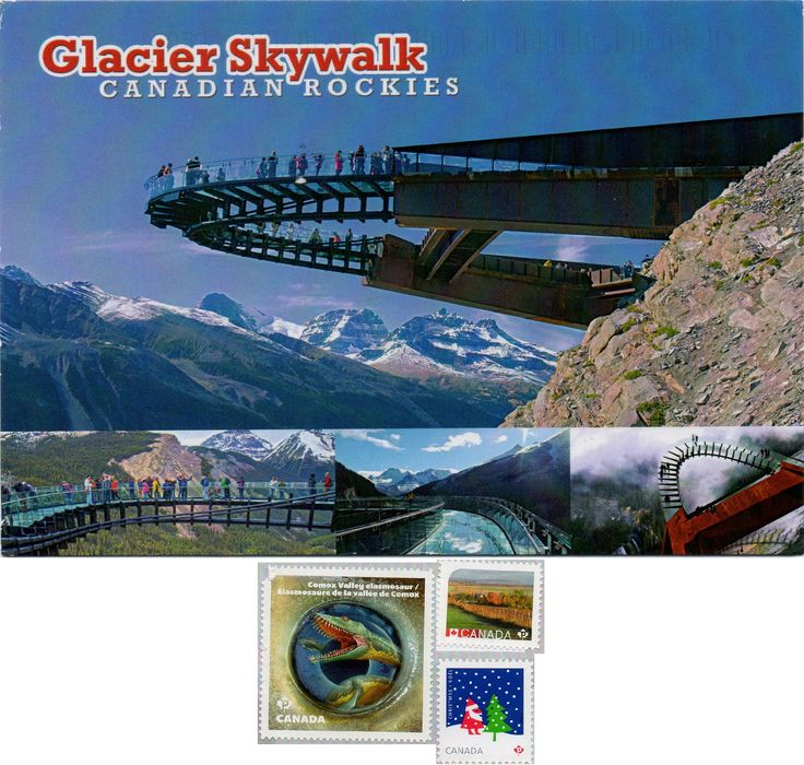 CA-684623 - Arrived: 2016.12.19   ---   Glacier Skywalk, Jasper National Park, Alberta, Canada