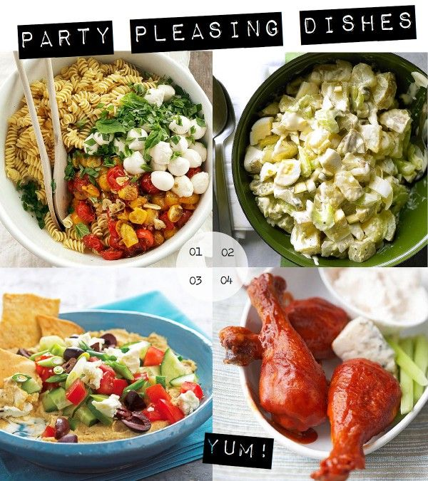 These party dishes are perfect for tonight's big game! See more on Delish Dish: http://www.bhg.com/blogs/delish-dish/