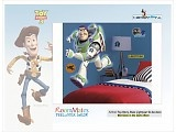 Roommates: Disney decoraties Toy-Story, Buzze Lightyear Gi-Ga decoratie